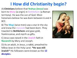 aim what does it to be christian ppt