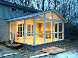 Enclosed Porch Plans Screen Porch Addition Ideas Enclosed Front Porch Ideas Screen