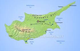 map of cyprus cyprus map cyprus country in map cyprus in