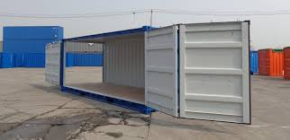 Secure Storage Container At U0026s 20ft Container With Open Side