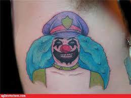 taturday 103 creepy clown tattoos smosh