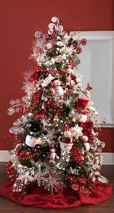snowman christmas tree decorated christmas tree ideas photo gallery at shelley b