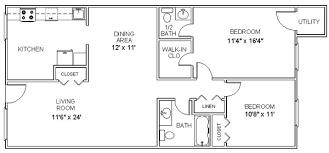 bedroom floor plan two bedroom floor plans waterfaucets