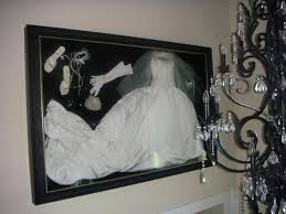 wedding dress shadow box no project to big or small wedding dress accessories framed by