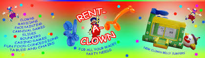 where can i rent a clown for a birthday party rent a clown