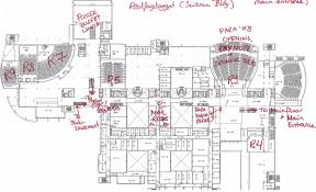 lecture hall floor plan para08 sci bldg lecture halls floor jpg