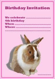 free birthday invitation for the 4th birthday birthday party