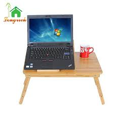 Standing Desk For Laptop Bamboo Adjustable Standing Desk Laptop Computer Stand Laptop