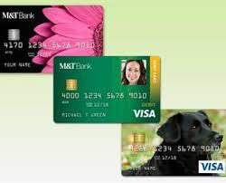 customized debit cards custom card banking m t bank