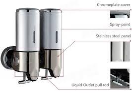 Wallmounted Manual Soap Dispenser Bathroom Liquid Soap Box At - Bathroom liquid soap dispenser