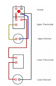 electric water heater wiring diagram turn the power