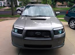 subaru forester headlights forester friday my 06 fxt with new projector retrofit subaru