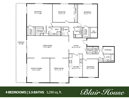 Marvelous 5 Bedroom 4 Bathroom House Plans New At Home Charming