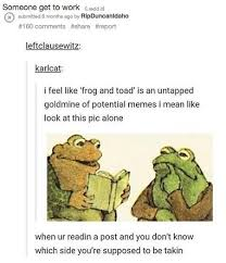Frog Memes - frog and toad are memes the new york times