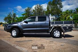 Ford Ranger Truck Topper - ford ranger demo norweld aluminium ute trays and aluminium canopies