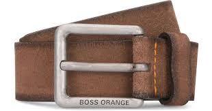light brown suede belt lyst boss orange jordi leather belt in brown for men