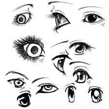 eye sketches by invaderval on deviantart