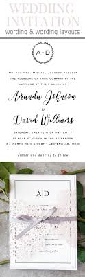 20 popular wedding invitation wording diy templates ideas