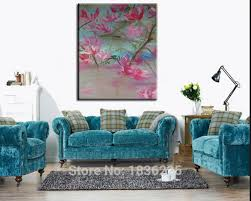 import oil painting picture oil painting model decoration flowers