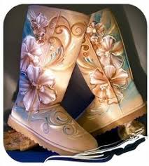 customise your ugg boots for free this autumn global blue swarovski pearls chanel boots bling bling diy ugg logo
