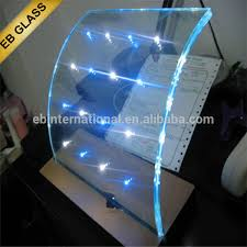 sparking glass stairs eb glass glass panel with led lights view