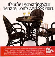 home decor ads 1988 ads for pier one imports store found in mom s basement