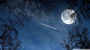 halloween scenery background sky halloween night painting holiday moon illustration art