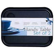 lap tables for eating smash handy table set of 2 big w
