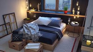 Masculine Colors Masculine Bed Gallery Of Masculine Bedroom Interior Design Ideas