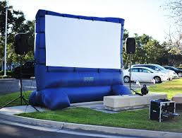 Backyard Movie Night Projector Gallery Projector Screen Rental Prices Los Angeles Myeventpro