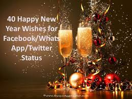 40 happy new year wishes for whatsapp status