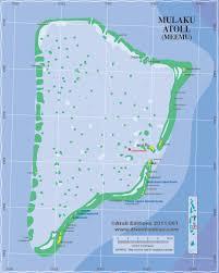 Map Of Maldives Mulaku Atoll Meemu Maldives Atolls