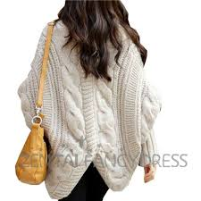 plus size cable knit sweater winter batwing cable knit plus size trendy