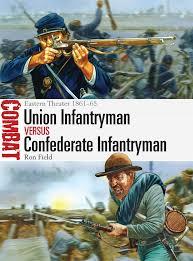 union infantryman vs confederate infantryman eastern theater 1861