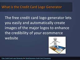Small Business Credit Card Machines Free Credit Card Logo Generator For Small Business Credit Card Proces U2026