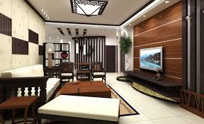 wooden wall in living room and dining room wooden wall design