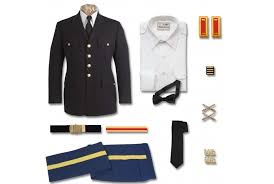 male army officer asu uniform center marlow white