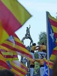 Estelada Flag Kostenlose Foto Symbol Farbe Kunst Festival Catalunya