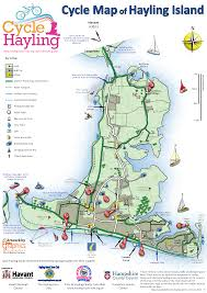 Map England by Cycle Map Of Hayling Island Http Www Hayling Cycle Ride Org Uk