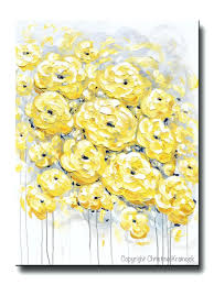 yellow and gray baby shower decorations decoration yellow grey and white print gold abstract painting