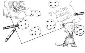 if you give a mouse a cookie coloring sheet free coloring sheets