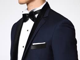 costume bleu marine mariage mariage bleu marine