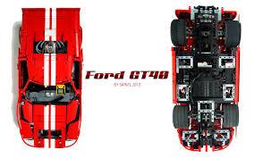 lego ford sariel pl ford gt40