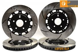 lexus isf for sale bc figs 2 piece front rear combo brake rotors 08 is f