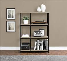 ameriwood furniture elmwood bookcase weathered oak