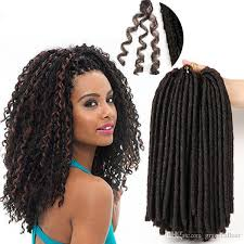 ombre crochet braids soft dreadlocks crochet braid hair extensions ombre braiding hair
