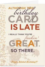 46 best birthday cards belated images on pinterest birthday