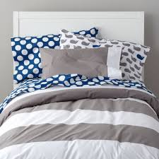 Bed Cover by Widest Stripe Duvet Cover The Land Of Nod