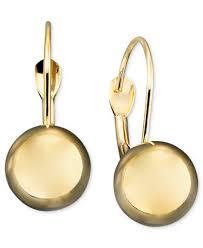 10k earrings 10k gold earrings leverback earrings jewelry watches
