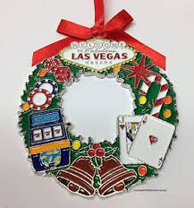 welcome to las vegas sign tree hanging ornament